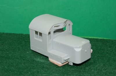 RS32 / RS36 Cab Section, HO Scale Tains