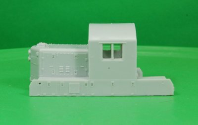 Western Maryland GP9M Engine Cab Section, HO Scale Trains