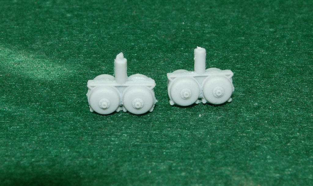 GP-9 Air tanks fit Athearn, HO Scale Train Parts
