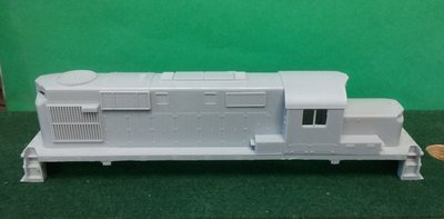 Alco RS11 Chop Nose Locomotive Shell, HO Scale Trains