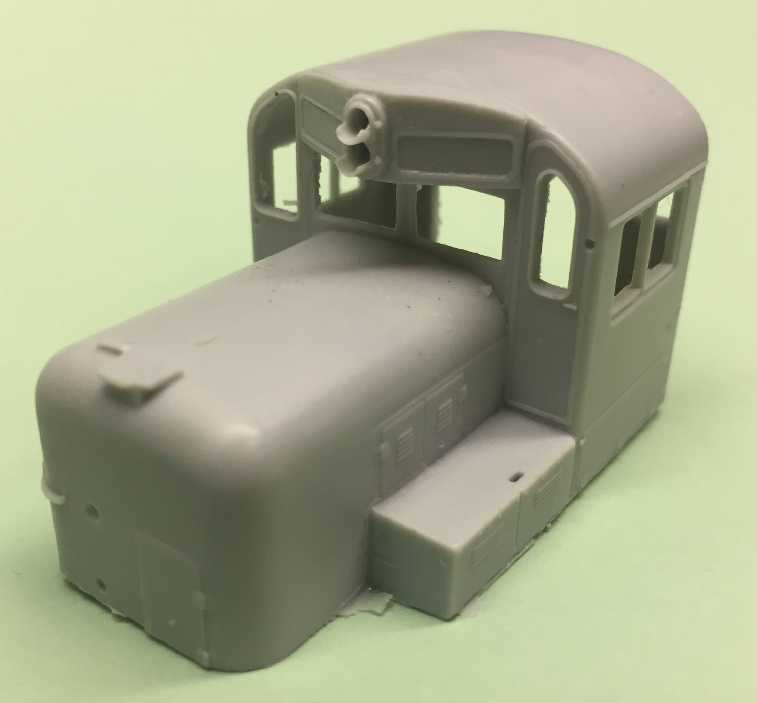 HO Scale Cab - Alco RS3 Chop Nose Cab Section