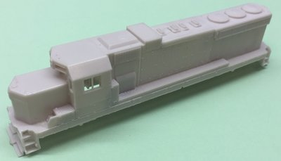 N Scale ICG SD20 Rebuild Locomotive Shell