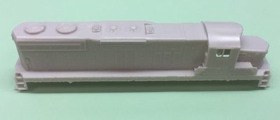 N Scale - SD18 Chop Nose w/ DB Locomotive Shell