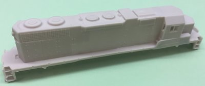 N Scale - SD38AC w/ DB Locomotive Shell