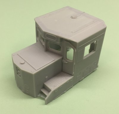 HO Scale Cab - Wabtec CSX SD40-3 Cab Section