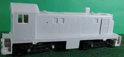 HO Scale - Alco T-6 Locomotive Shell