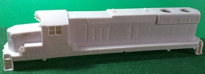 HO Scale EMD SD18 Low Nose no Dynamic Brakes