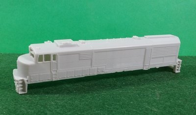 N Scale GE U30CG Locomotive Shell