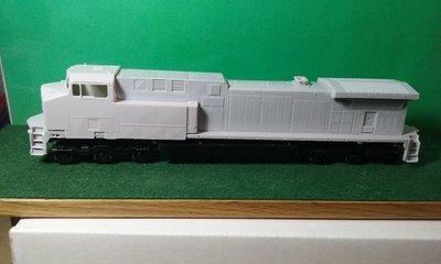 HO Scale BNSF AC44C4M Locomotive shell.