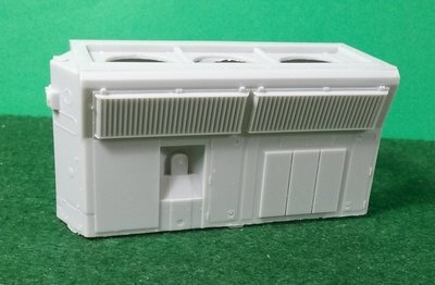 HO Scale Detail Part - EMD SD70M Rear Section