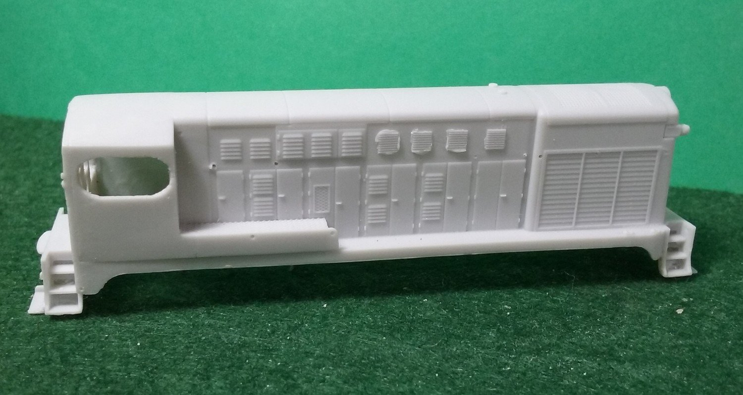 N Scale Fairbanks Morse H-20-44 Locomotive Shell