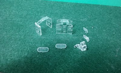 N Scale Detail Part - FM H20-44 / H12-44 Glass Set