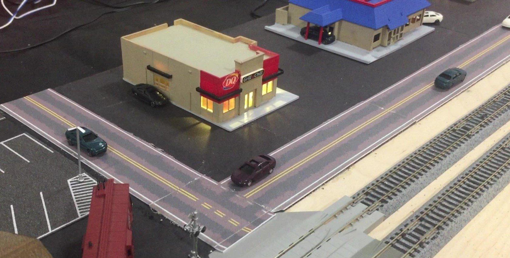 Easy Streets - HO Road Templates