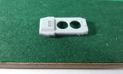 Dynamic Brake Section, Long Range for SD40-2, No Fans HO Scale Trains