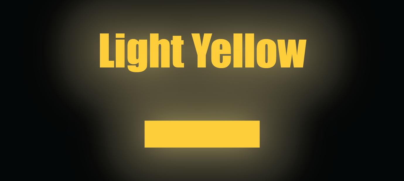 "HO Scale Reflective Striping - 4"" Light Yellow Reflective"