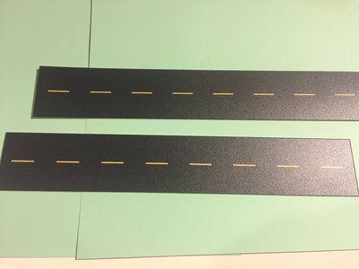 Easy Streets N - Fresh Asphalt-10in Double Passing Section No White