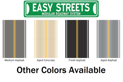 Z Scale Easy Streets