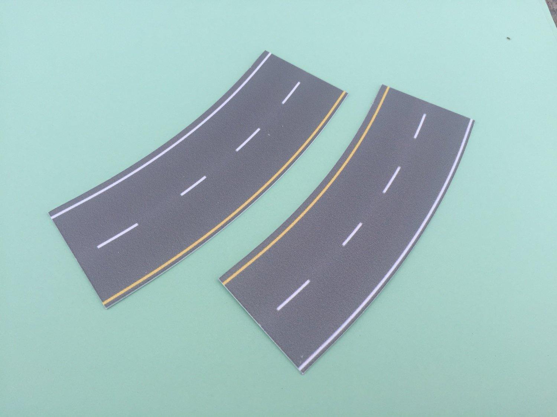 Easy Streets N - Medium Asphalt-Broad Curve Interstate