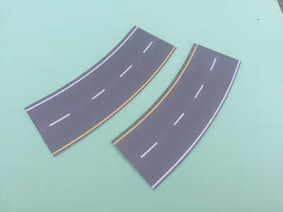 Easy Streets N - Medium Asphalt-Broad Curve Interstate