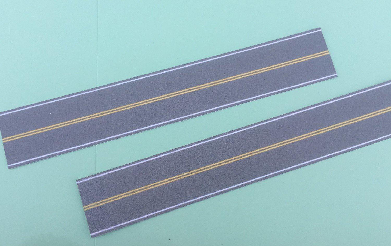 Easy Streets N - Medium Asphalt-10in No Passing Section