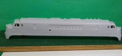 HO Scale Baldwin DR 6-4-2000 Double Ended Baby Face Locomotive Shell