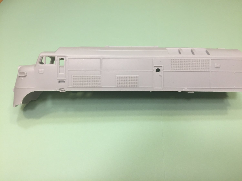 HO Scale - Baldwin DR44-1500 A BabyFace Locomotive Shell
