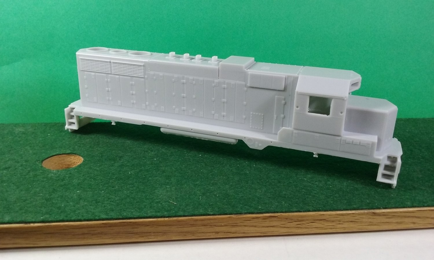 HO Scale - Wisconsin Central GP35M Rebuild Engine Shell