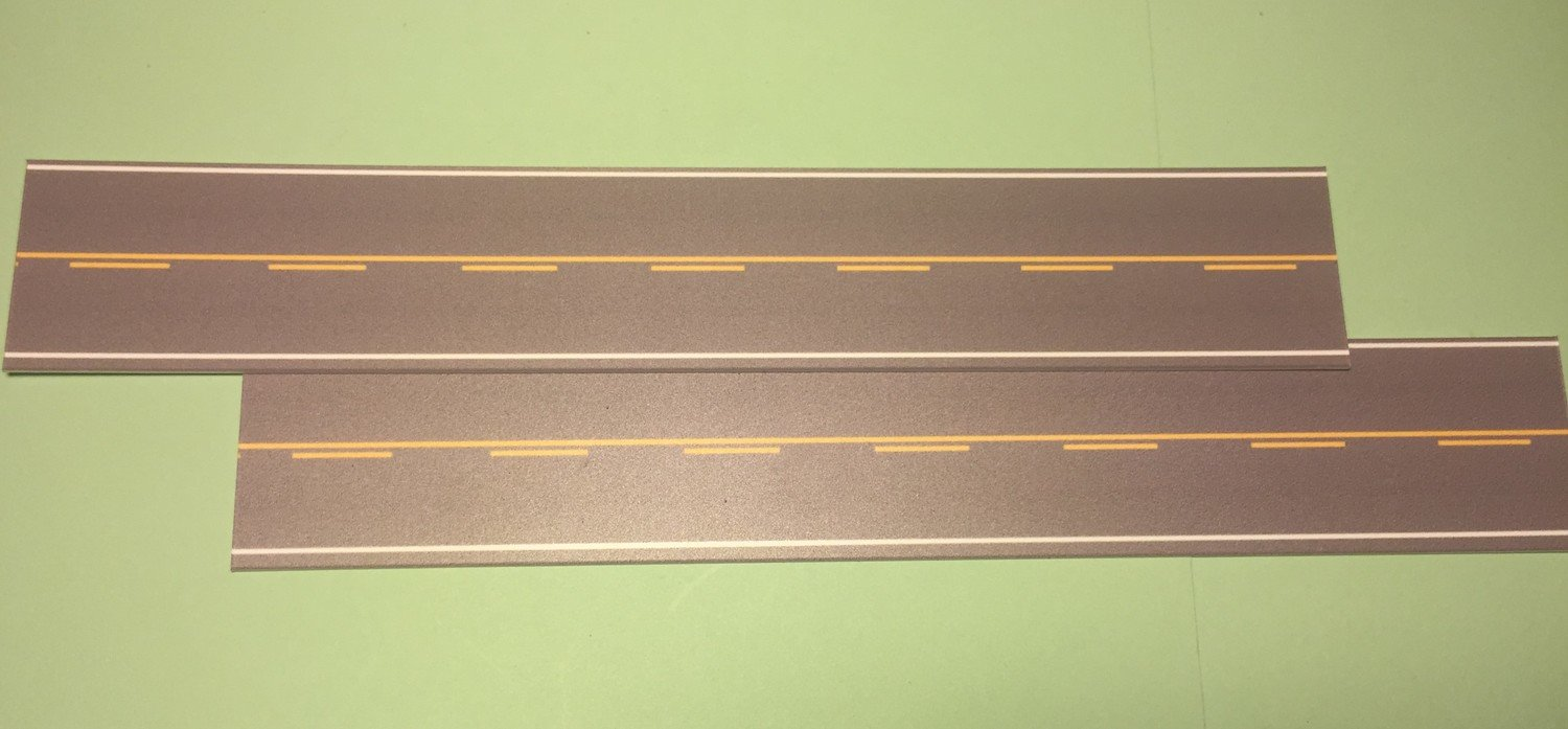 Easy Streets N - Medium Asphalt-10in Single Passing Section