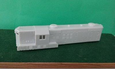 GP9 Phase 3 Atlas Conversion Body Shell, Cab, no Dynamics, HO Scale Trains