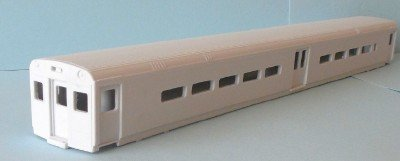 HO Scale - Comet III center-door commuter cab body kit
