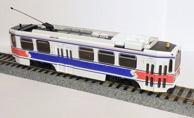 HO Scale - SEPTA Kawasaki Light Rail Vehicle (LRV)