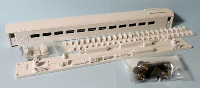 HO Scale - Silverliner III MU Commuter Car Body Kit