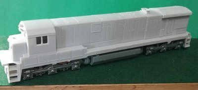 HO Scale Conrail C30-7a Engine Shell, by Puttman Locomotive Works