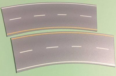 Easy Streets N - Aged Asphalt-Broad Curve Interstate
