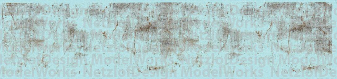 N Scale - Old Sheet Metal Rust Weathering Set