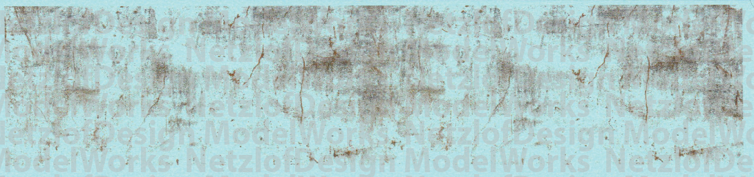 HO Scale - Old Sheet Metal Rust Weathering Set