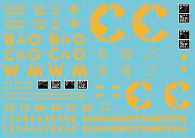HO Scale - Chessie System (B&O/C&O/WM) 2 Bay Open Hoppers