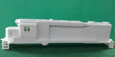 HO Scale EMD SD30 Engine Shell, HO Scale Trains, by Pacific Northwest Resin