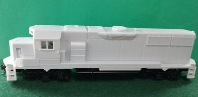 HO Scale UPY 940 w/db S6-1B Road Slug, HO Scale Trains, by Pacific Northwest Resin