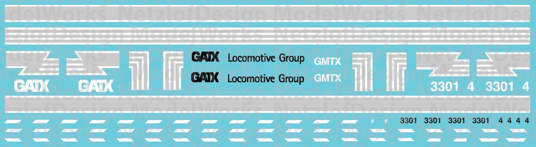 N Scale - GMTX Lease Locomotive exFGLK scheme