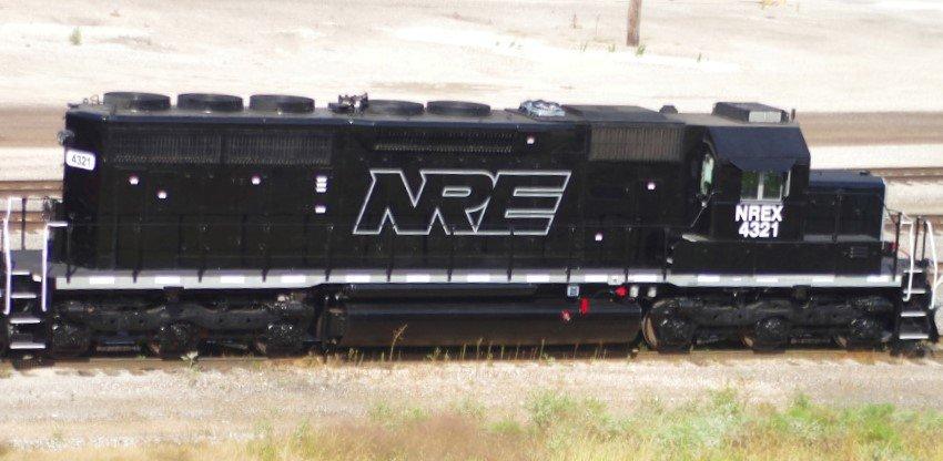 NREX Lease Locomotive Decal Set