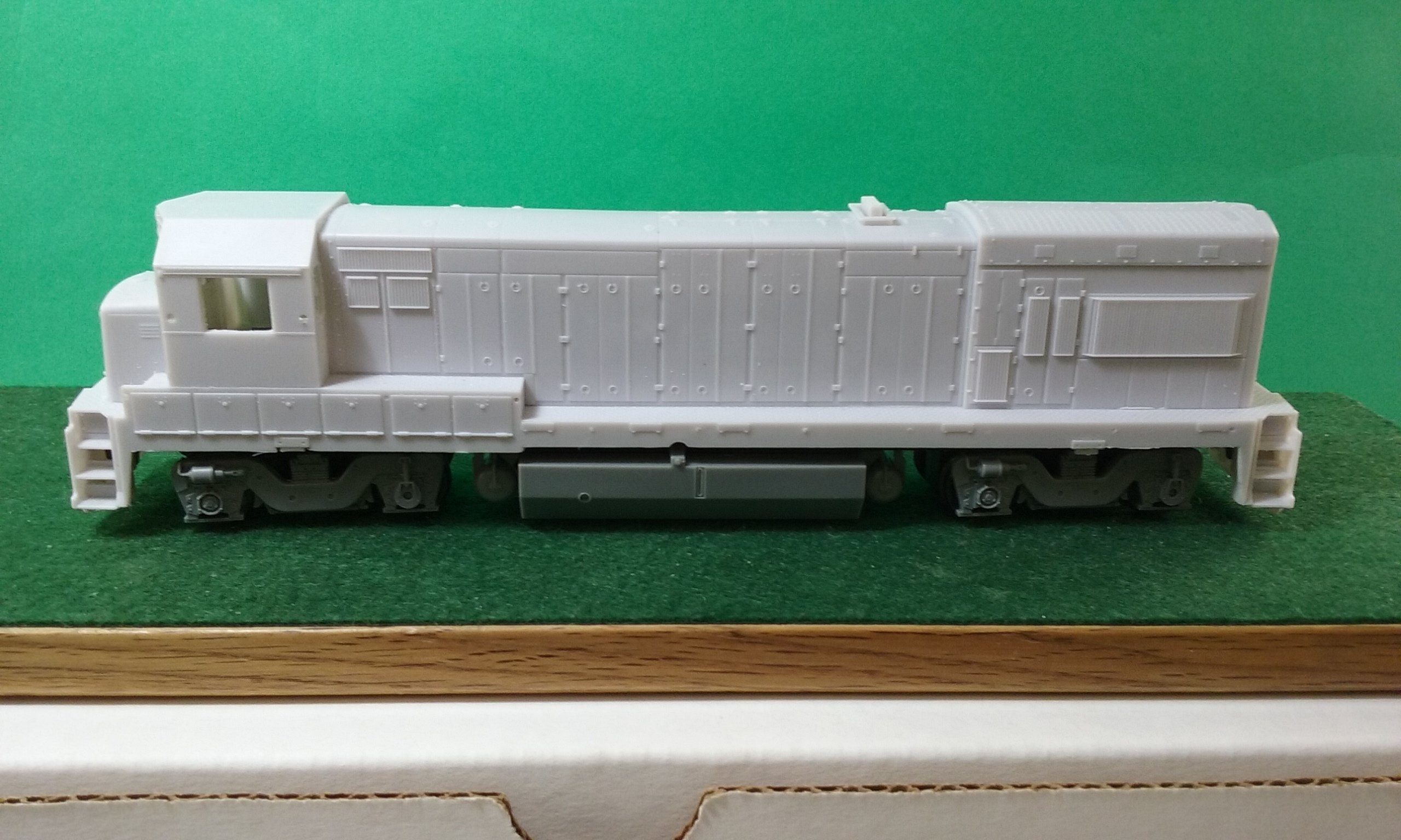 MoPac U23B w/ EMD Cab, HO Scale Trains, by Pacific Northwest Resin HO225