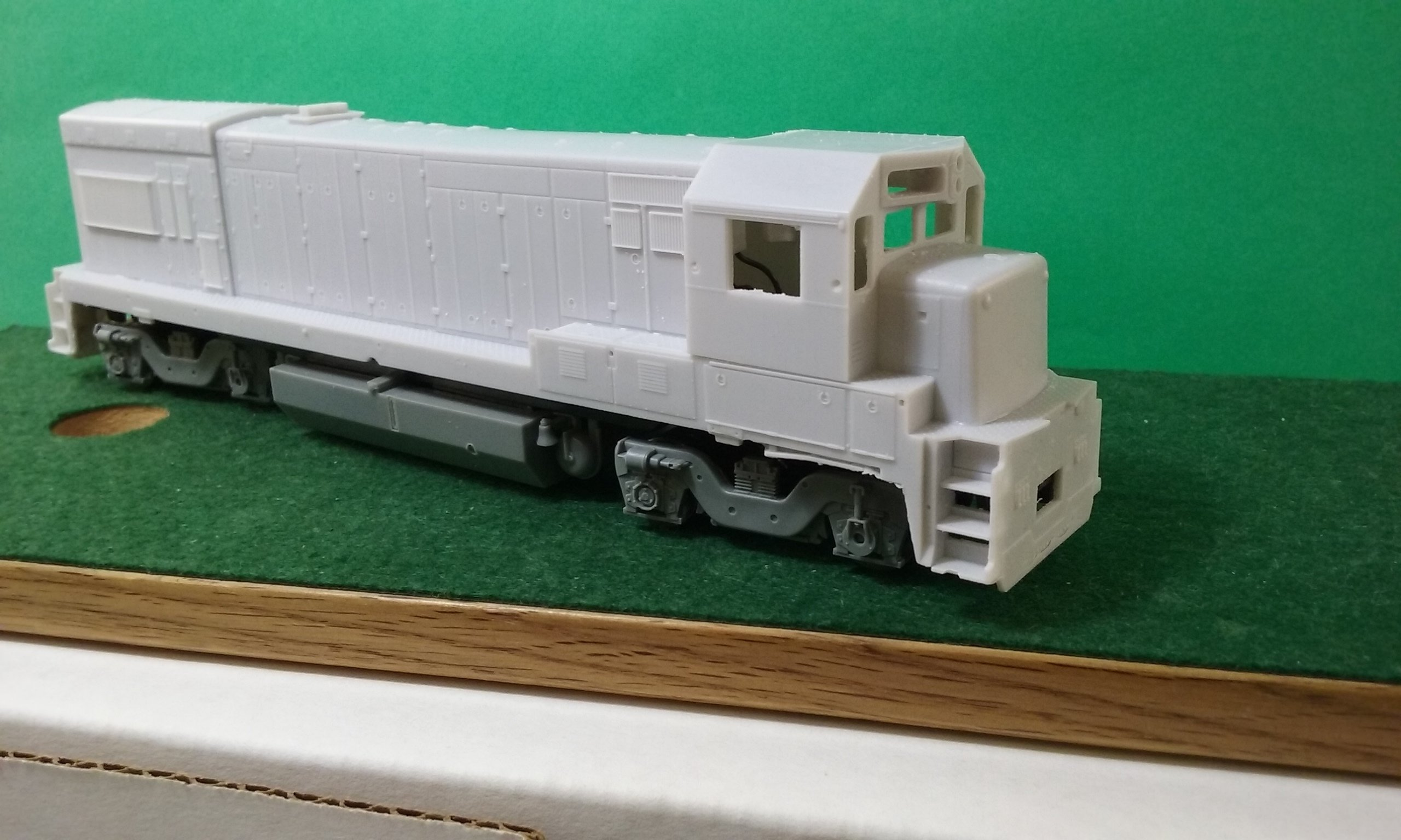 MoPac U23B w/ EMD Cab, HO Scale Trains, by Pacific Northwest Resin