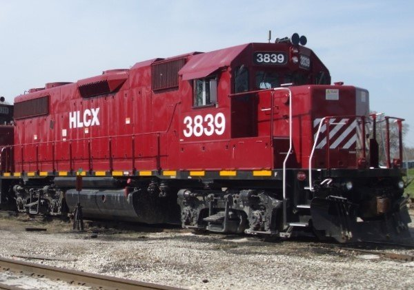 HLCX Lease Locomotive Decal Set