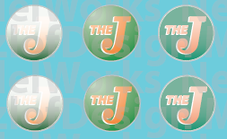 Elgin, Joliet & Eastern Faded Logo Decals