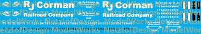 RJ Corman Locomotive Decals New Logo