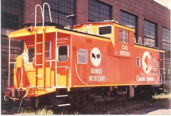 Chessie System Handle with Care Caboose Decals