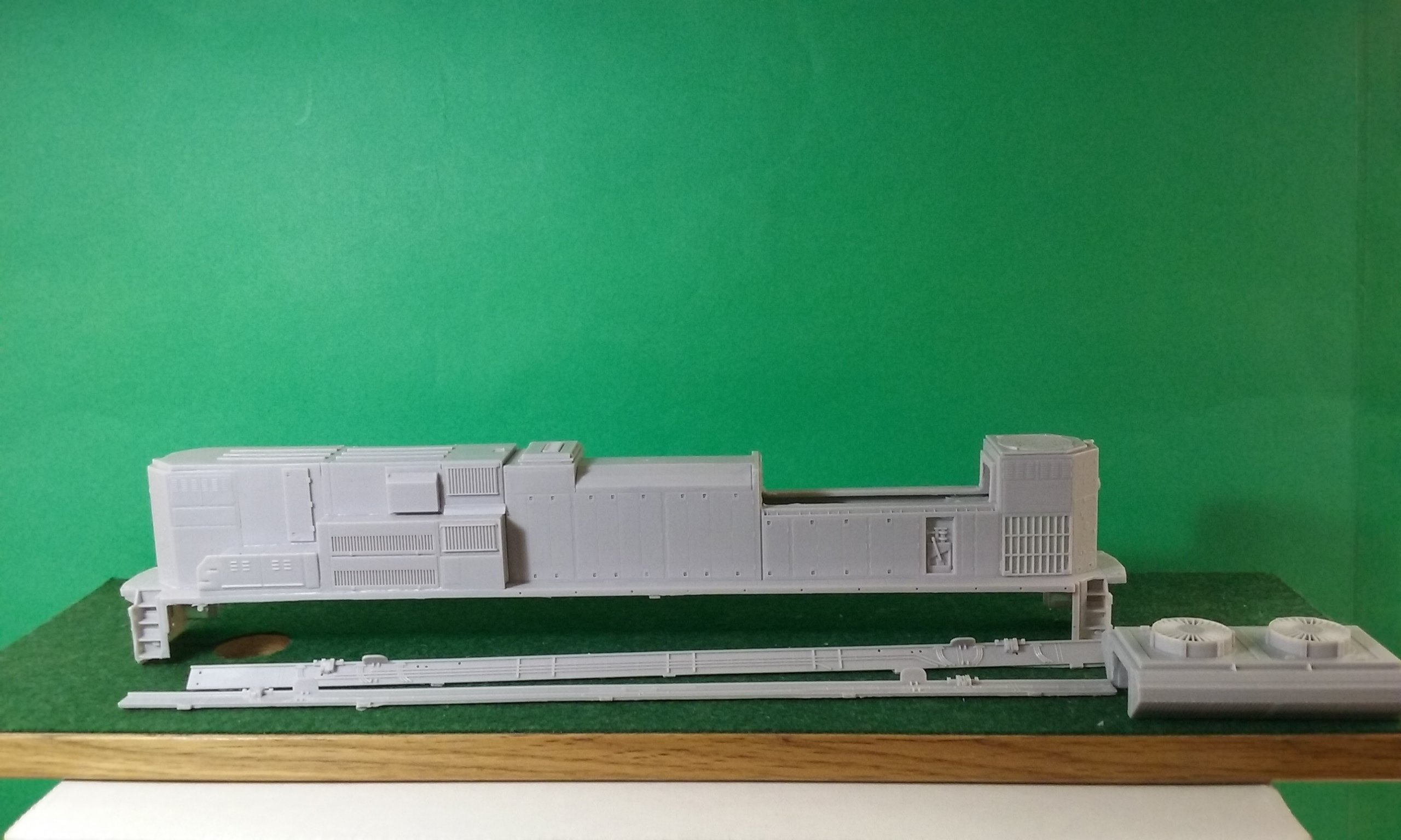 HO Scale SD70 ACE B Unit, HO Scale Trains, by Pacific Northwest Resin