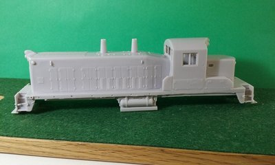 HO Scale RS 1325 and Frame, HO Scale Trains, by Pacific Northwest Resin