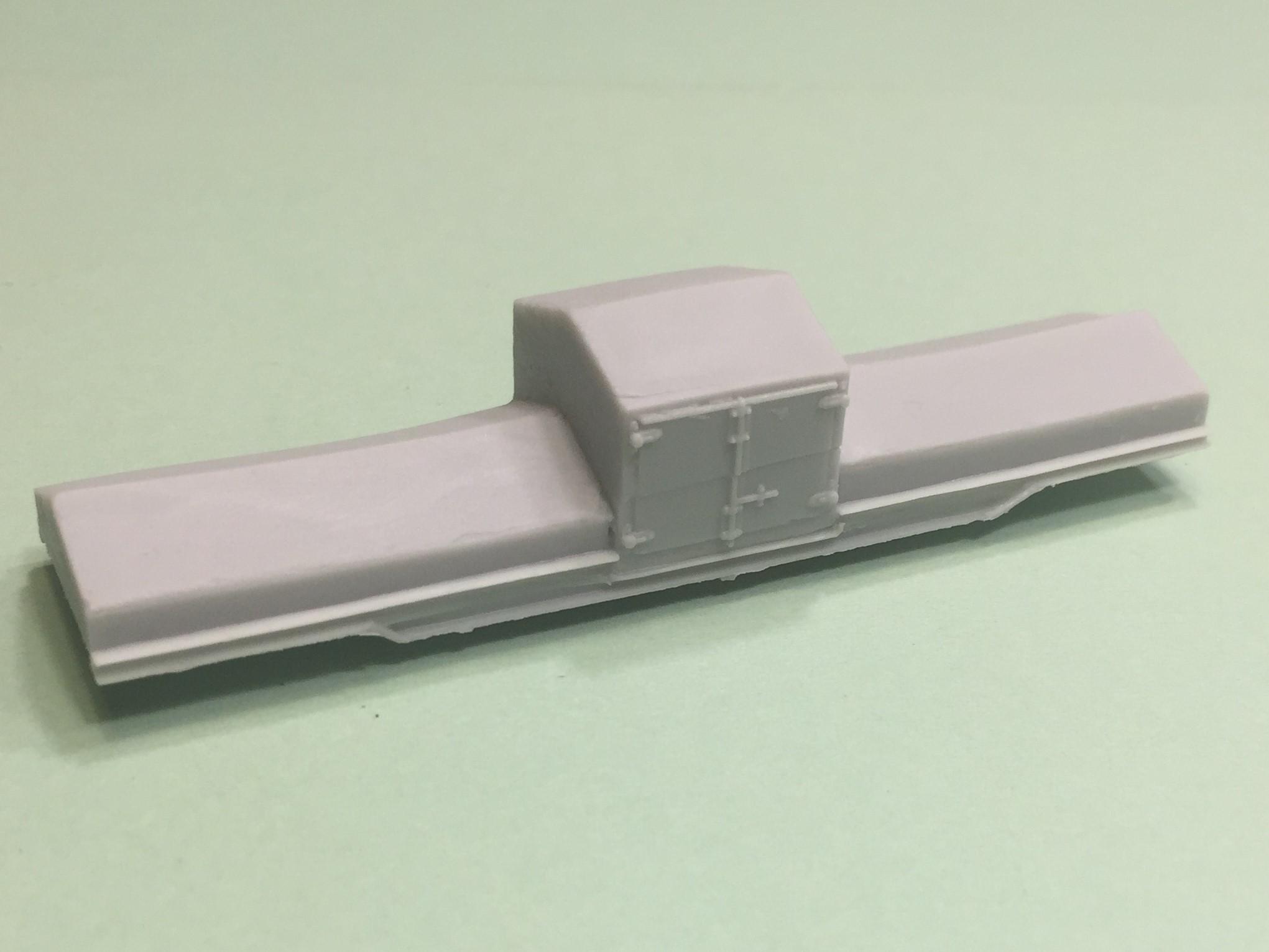N Scale Conrail Scale Test Car